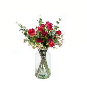 Kunstbloemen Valentijn Boeket