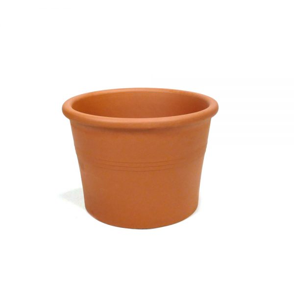Terracotta cilinderpot