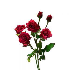 Kunstbloem Roos American Beauty