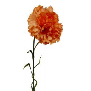 Kunstbloem-oranje-anjer