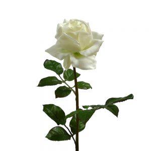 Kunstbloem Witte Roos