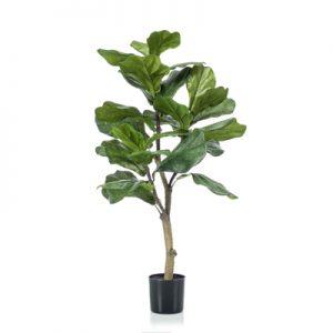 Kunstplant Ficus Lyrata 90