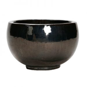 Metallic Glaze Bowl