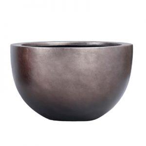 Metallic Leaf Bowl Coffee