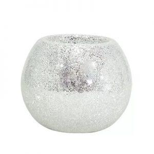 Mosaic Disco Globe Wit