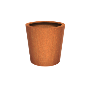 Cortenstaal Plantenbak Leira 100 x 100 cm
