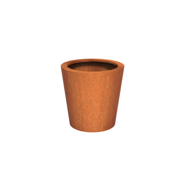 Cortenstaal Plantenbak Leira 80 x 80 cm