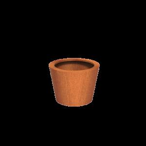 Cortenstaal Plantenbak Leira 80 x 60 cm