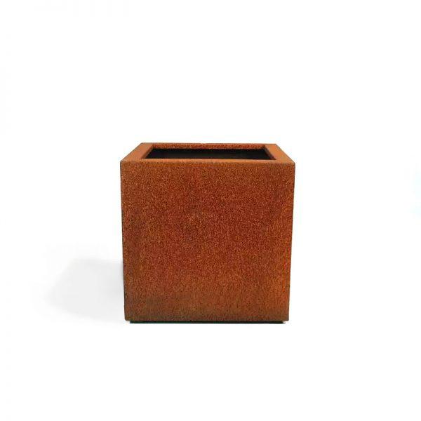 Cortenstaal Plantenbak Braga 40 x 40 x 40 cm